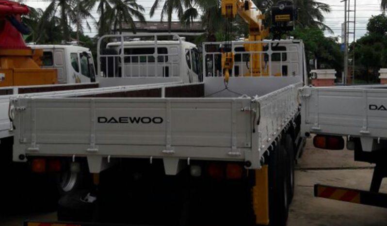 Cargo Crane 8×4 full