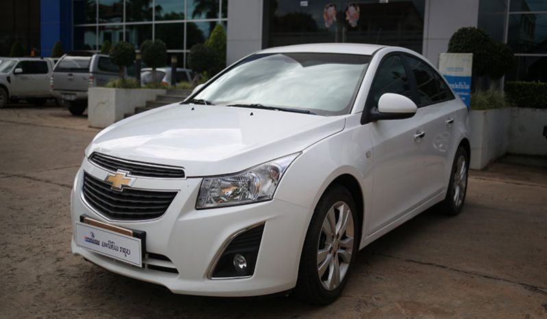 CHEVROLET CRUZE WHITE full