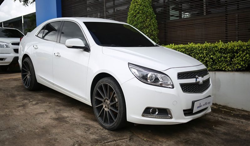 CHEVROLET MALIBU WHITE full